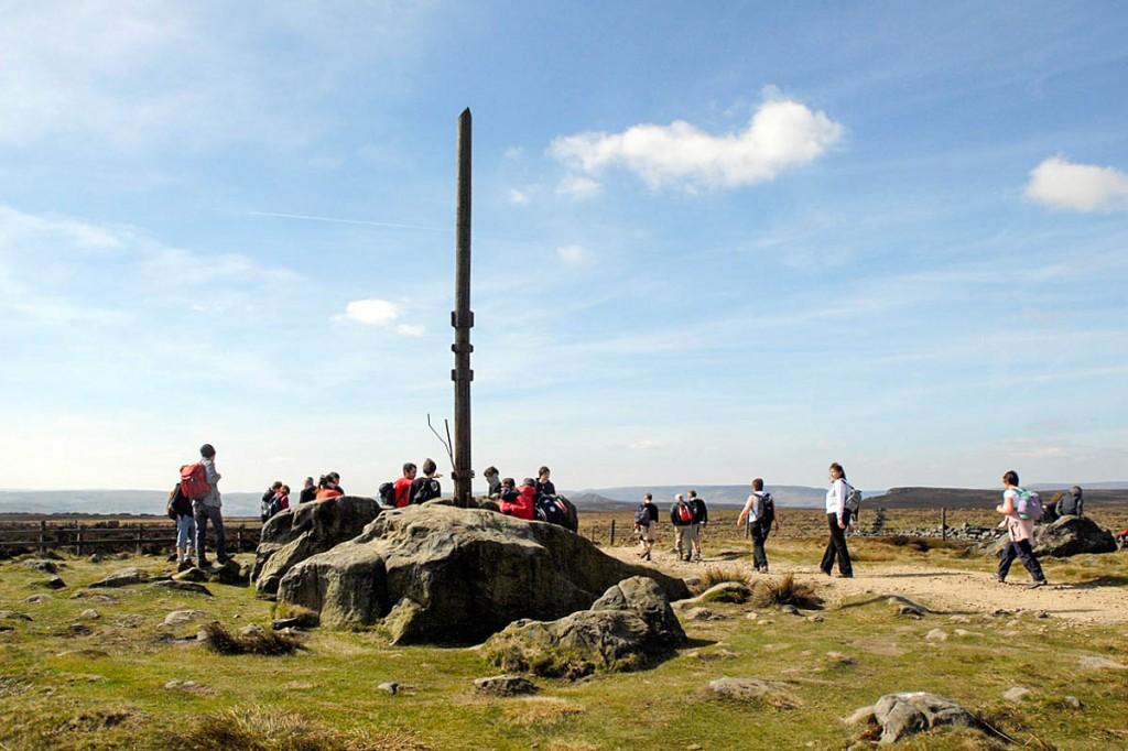 Stanage Pole. Photo: Peak District NPA