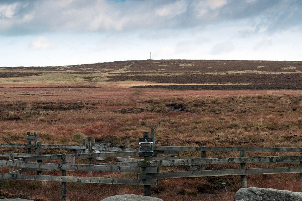 Stanedge Pole has been a marker on the moors for centuries