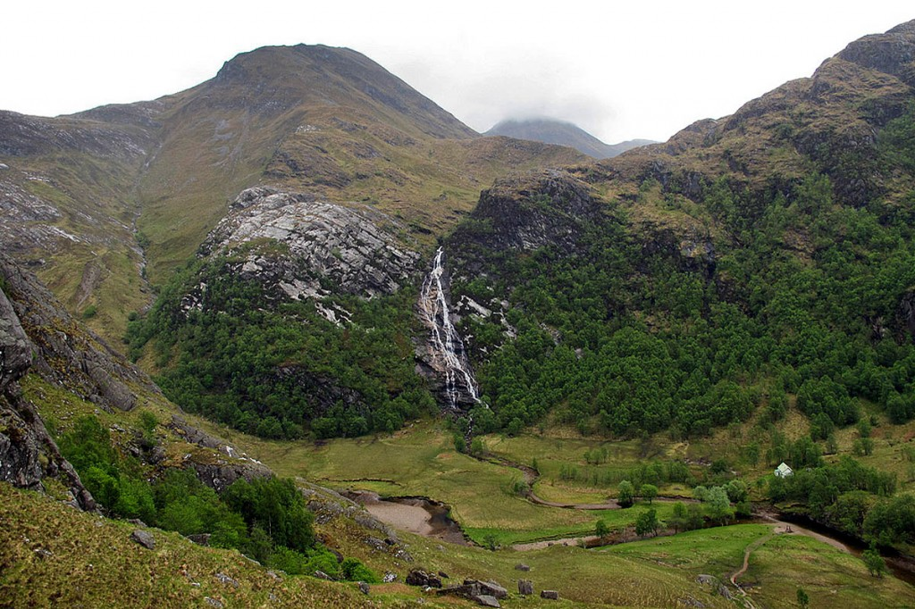 A rucksack was found near the river in the Steall Gorge. Photo: Andrew Marshall CC-BY-SA-2.0