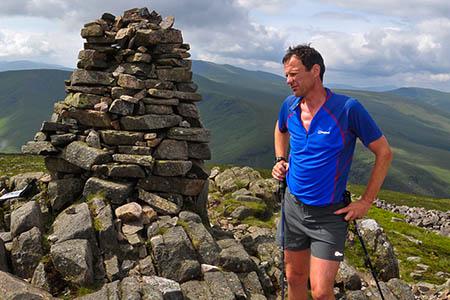Steve Birkinshaw summited all 214 peaks in a record time