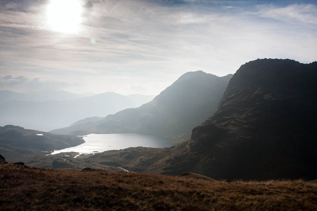Stickle Tarn was put on the market