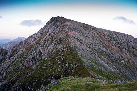 Stob Coire Sgreamhach: easier to climb for some than to pronounce?