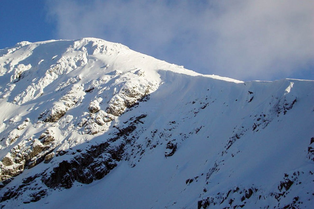 The climbers fell on Stob Coire nam Beith. Photo: Simon McElroy CC-BY-SA-2.0