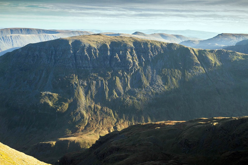 The man fell from St Sunday Crag. Photo: Bob Smith/grough