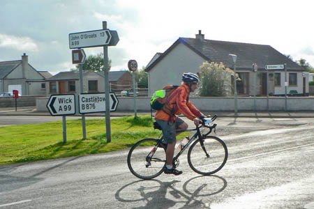 Stuart Walker, 13 miles from John O Groats