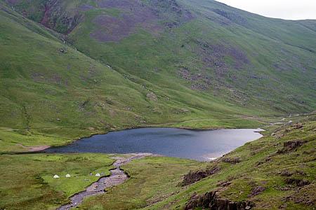 The walker was found below Styhead Tarn