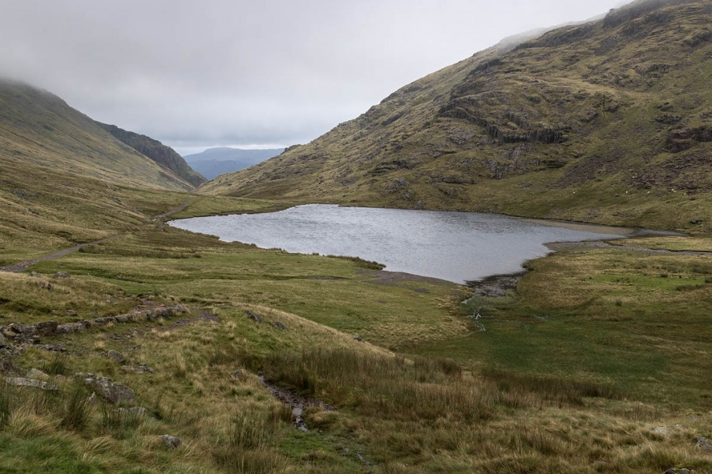 The lost walkers were found below Styhead Tarn. Photo: Bob Smith/grough