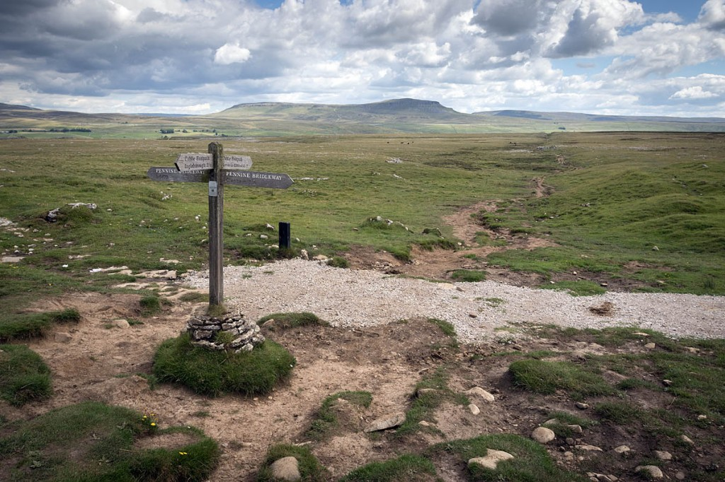 Sulber crossroads on the eastern flanks of Ingleborough. Photo: Bob Smith/grough