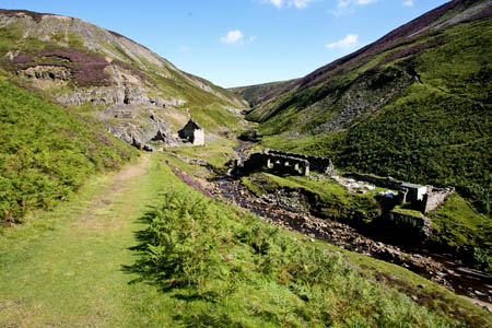 On the route of the Coast to Coast Walk in Swaledale