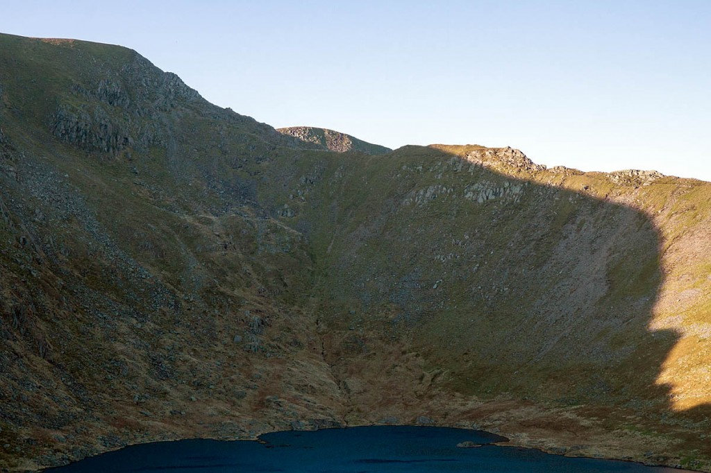 The woman fell from Swirral Edge on Helvellyn