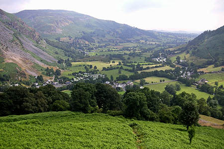 The incident happened in the Tanat Valley near Llangynog. Photo: Dave Kirk CC-BY-SA-2.0