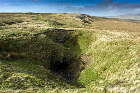 The four were trapped in Tatham Wife Hole on the slopes of Ingleborough