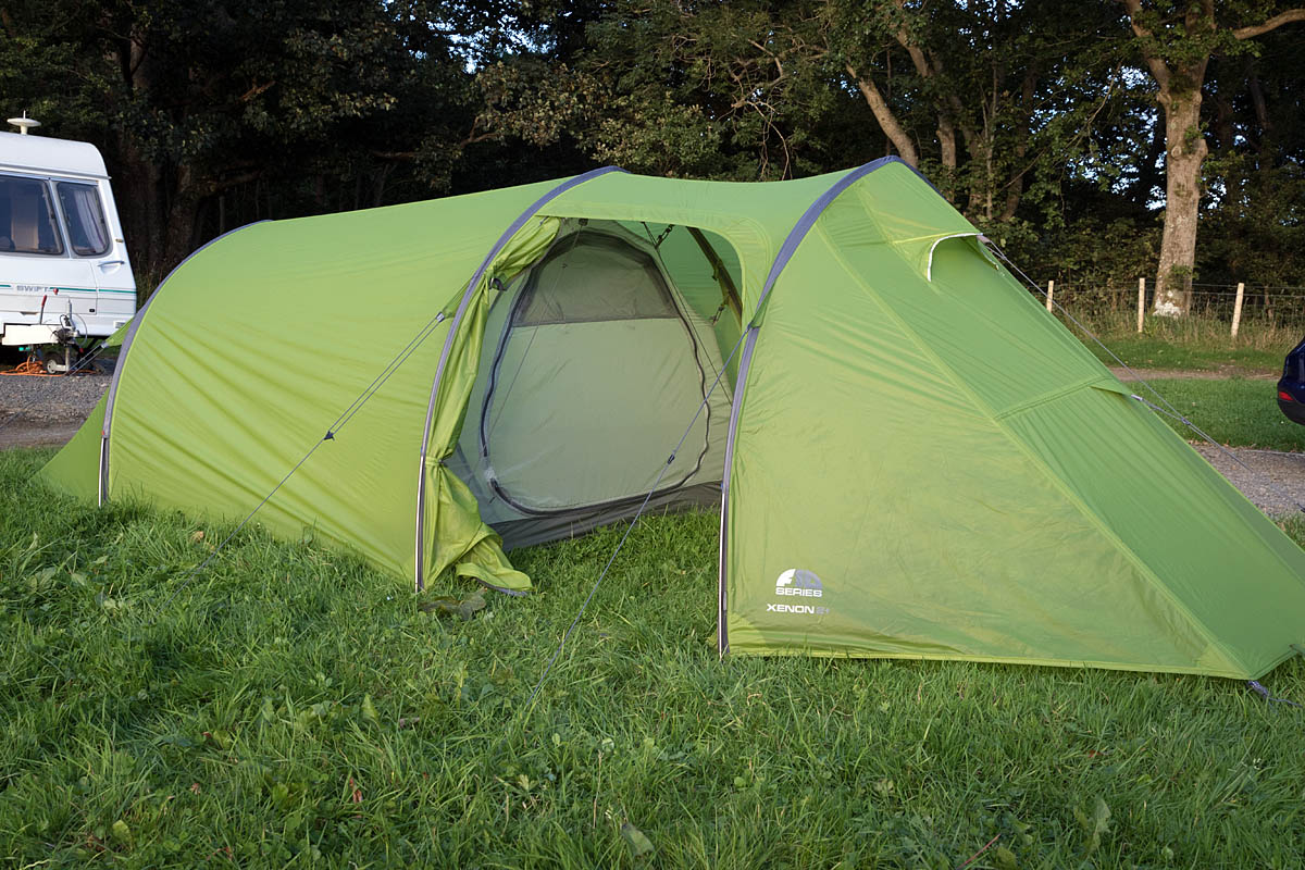 Groughu0027s home for the Vango visit was an F10 Xenon 2+. Photo Bob & grough u2014 Vango unveils new innovations as the brand celebrates 50 ...