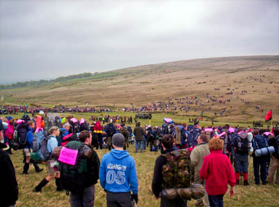 Competitors in the Ten Tors challenge. Photo: Oliver Bird CC-BY-SA-2.0