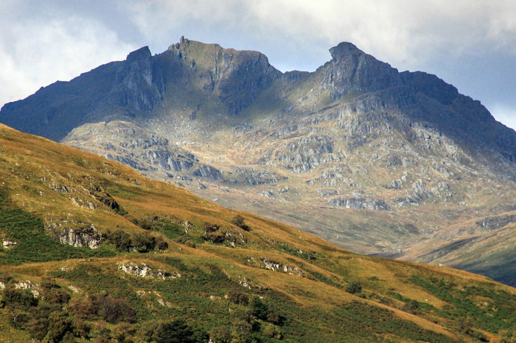 The list of corbetts includes The Cobbler. Photo: Bob Smith/grough