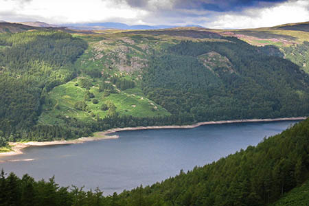 Thirlmere, scene of the incident