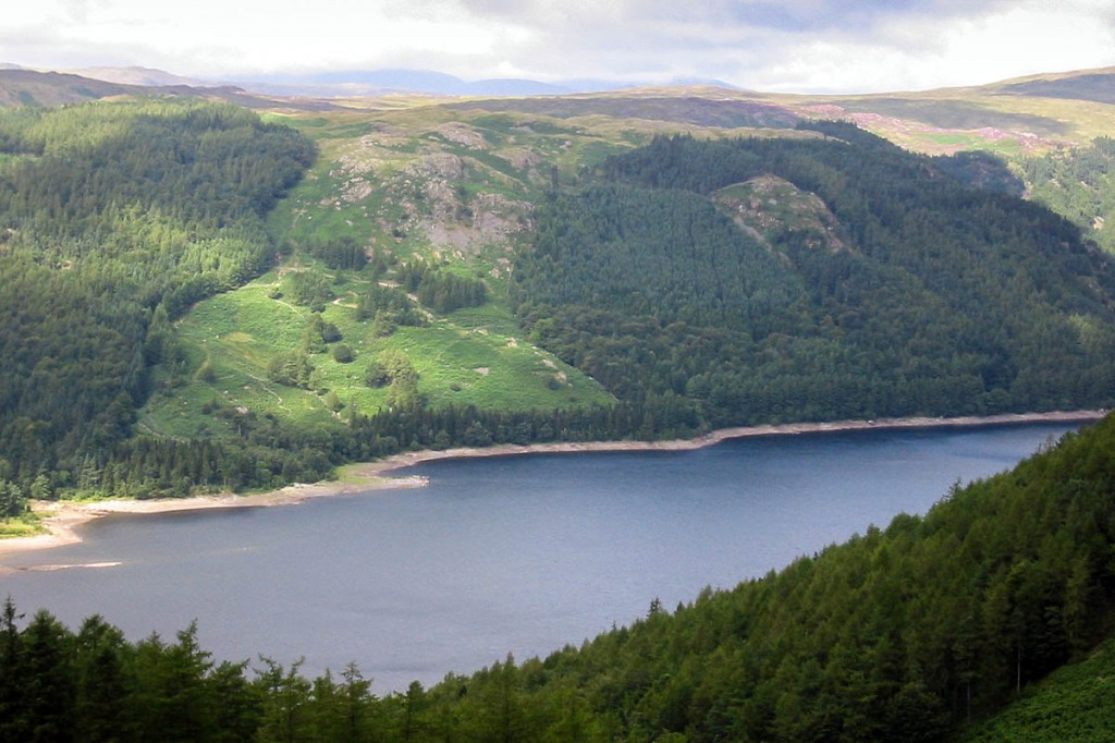 The planned zipwire would cross Thirlmere. Photo: Bob Smith/grough