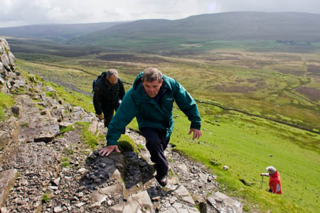 Yorkshire Dales authority chair Carl Lis on Pen-y-ghent