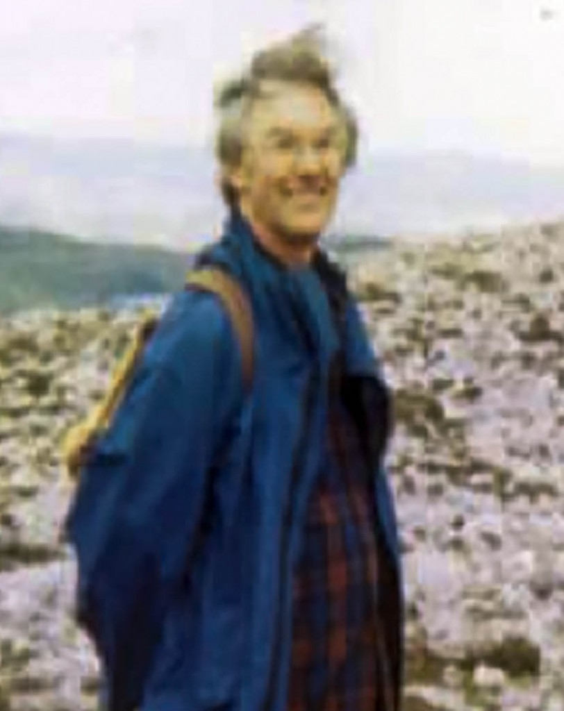 Tom Brown, whose rucksack and belongings were found near Steall Falls
