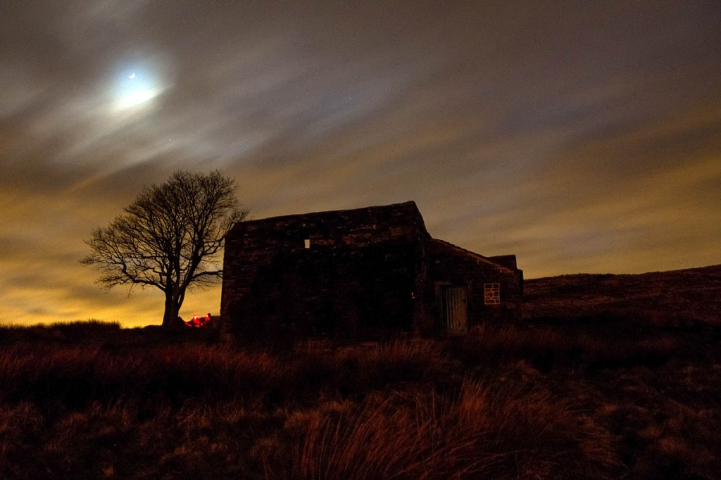 Visitors will need headtorches for the walk to Top Withins, inspiration for Wuthering Heights. Photo: Bob Smith/grough
