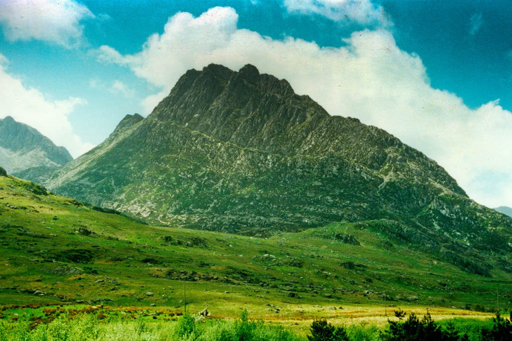 Mr Longfellow's body was found on the East Face of Tryfan