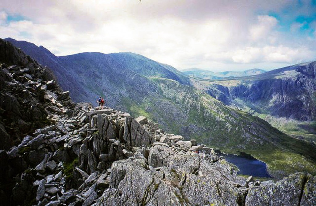 Tryfan's North Ridge was the scene of another rescue. Photo: Richard Webb CC-BY-SA-2.0