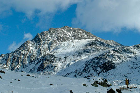 The man fell in a gully on Tryfan's West Face. Photo: Neil Cowburn CC-BY-2.0