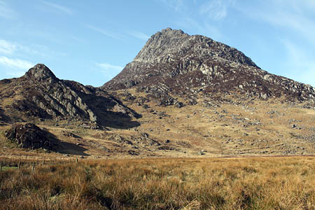 Searches have centred on Tryfan, close to where Mr Whitfield's car was found. Photo: Alex Beamer
