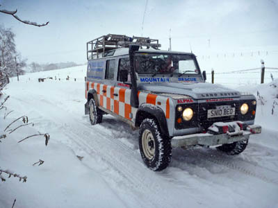 The cash will go to help Scotland's volunteer mountain rescue teams