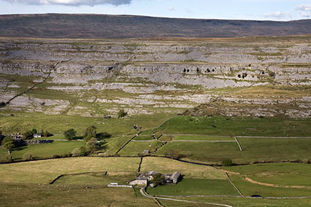 The climber fell from a route on Twistleton Scar