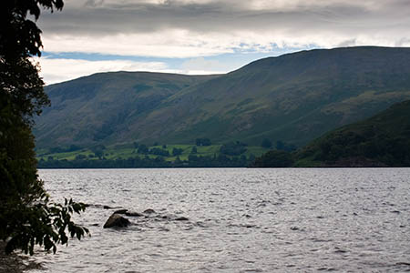 The race, along Ullswater's shoreline, kept rescuers busy