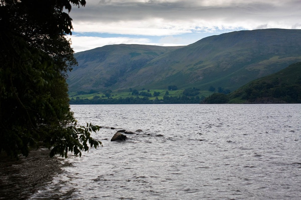 The man slipped while descending the fell above Ullswater. Photo: Bob Smith/grough