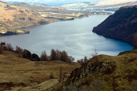 The man slipped while walking with a group near Ullswater