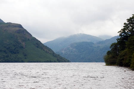 Ullswater, scene of the fisherman's disappearance
