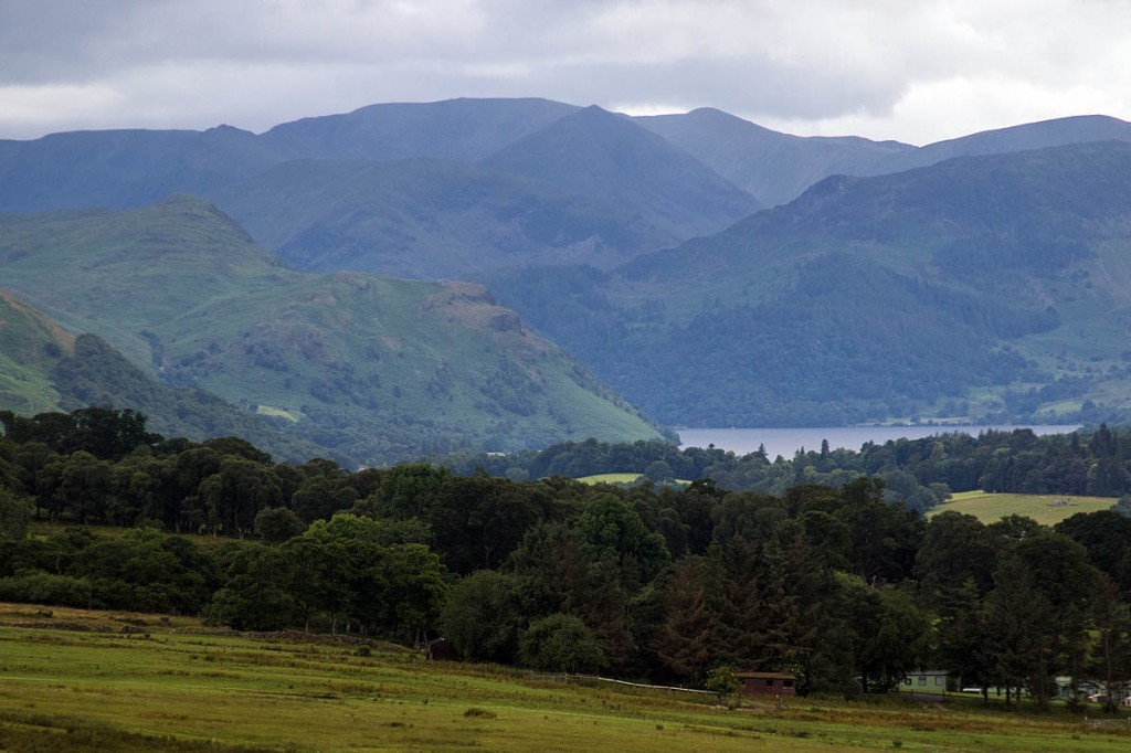 The Patterdale team was called to three separate incidents across its area