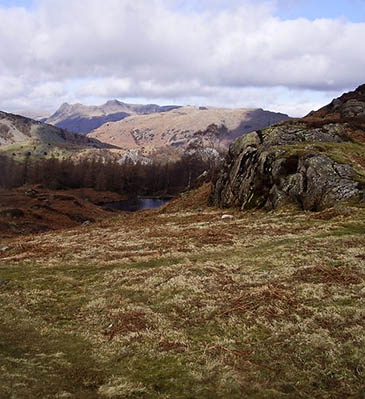 The walker fell ill at Uskdale Gap, Holme Fell, near Coniston. Photo: Steven Ruffles CC-BY-SA-2.0