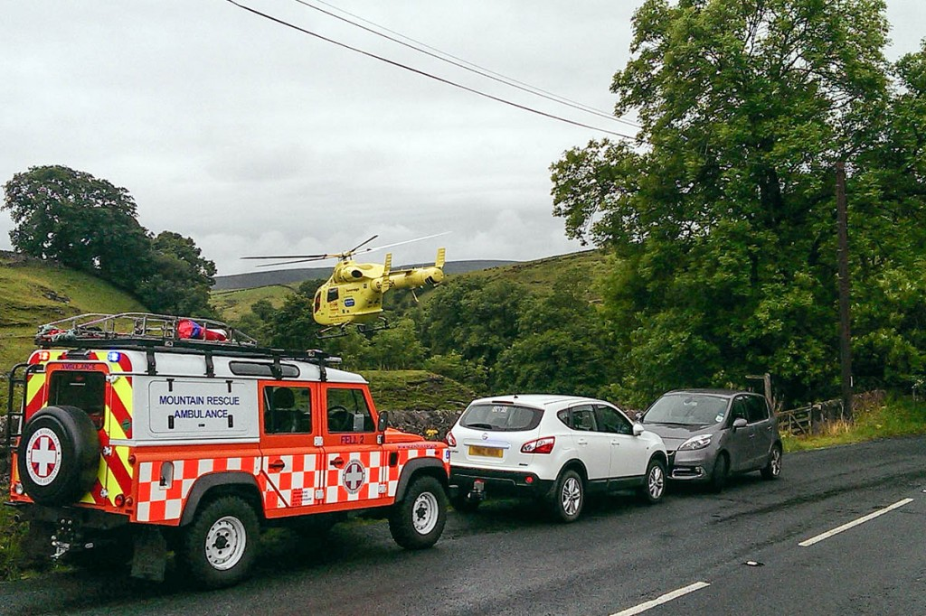 The scene of Mr Ballard's accident at Dibble's Bridge. Photo: UWFRA