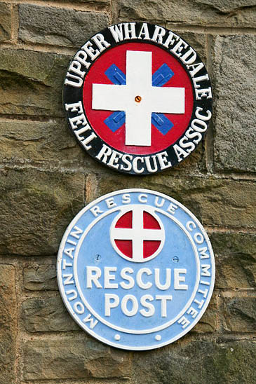 The missing plaques mysteriously returned to the rescue base
