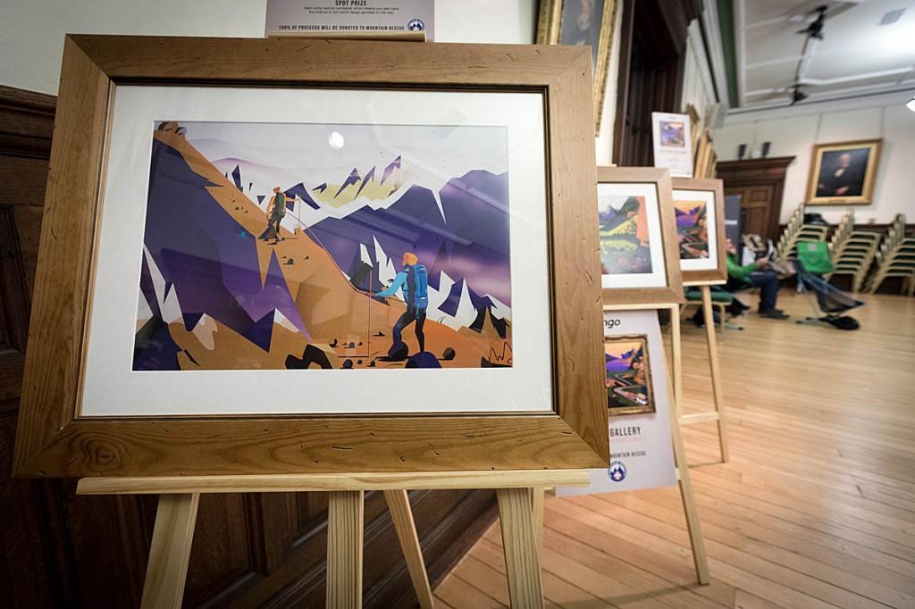 The Vango artwork. Photo: Bob Smith/grough