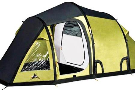Pump up tent