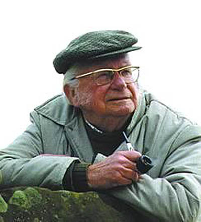 Alfred Wainwright, whose books encourage walkers to explore the fells