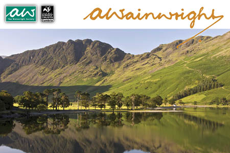 The calendar has photos taken by members, including this one by Annabelle Studholme of Wainwright's favourite fell Haystacks