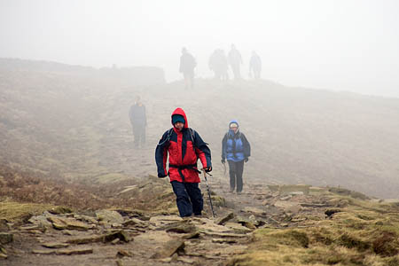 Hillwalkers are at risk of exhaustion hypothermia
