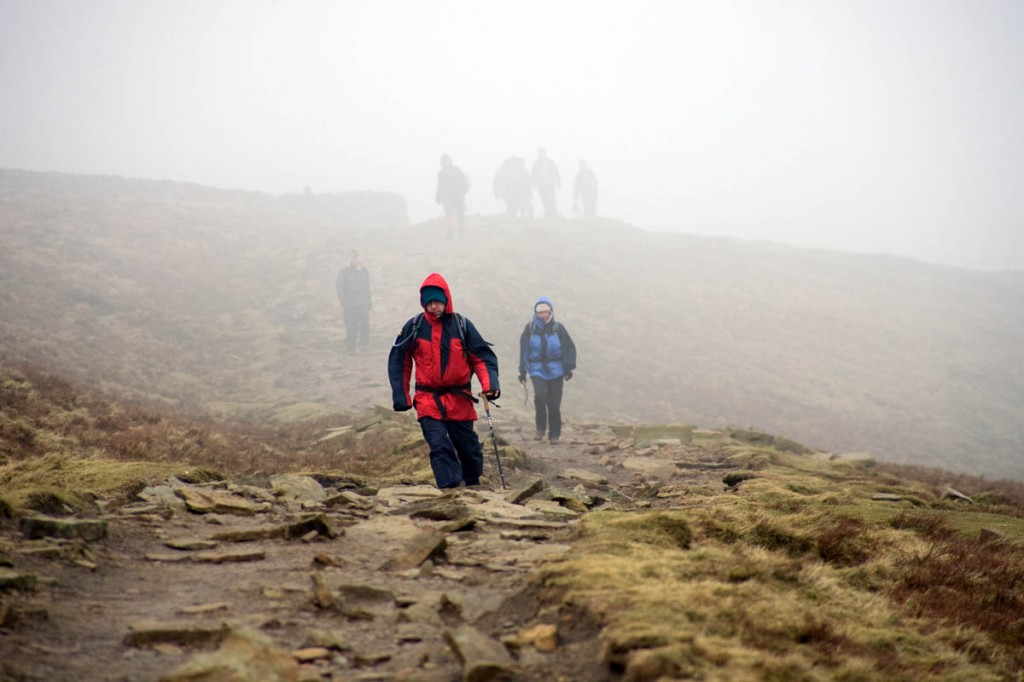 The UK's damp climate presents a challenge to outdoor garment designers