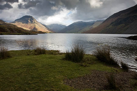 The team's area in Wasdale includes England's highest mountain Scafell Pike