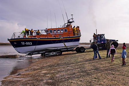 The Wells RNLI lifeboat was one of three vessels involved in the aborted search. Photo: Dennis Smith CC-BY-SA-2.0