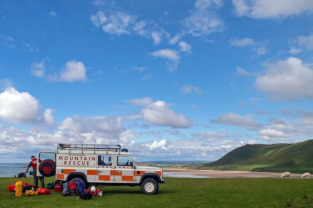 The Western Beacons team will be at Rhossili this weekend