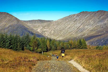 The West Highland Way is Scotland's most popular long-distance trail