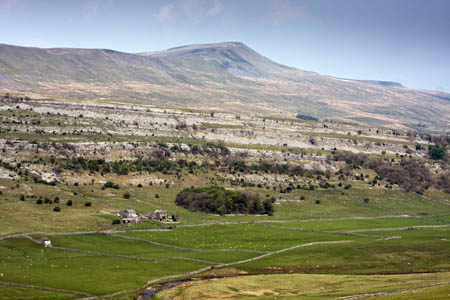 Whernside's whaleback shape shares its geology with its Three Peak neighbours