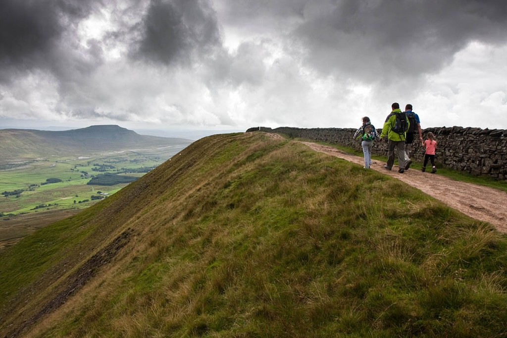 The Yorkshire Three Peaks involves 24 miles of walking. Photo: Bob Smith/grough